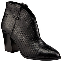 Buy Somerset by Alice Temperley Oath Block Heeled Ankle Boots, Black Online at johnlewis.com