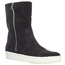 Buy Kin by John Lewis Reija Calf Boots, Grey Online at johnlewis.com