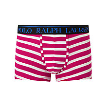 Buy Polo Ralph Lauren Stripe Stretch Cotton Trunks Online at johnlewis.com