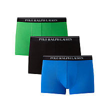 Buy Polo Ralph Lauren Stretch Cotton Trunks, Pack of 3 Online at johnlewis.com