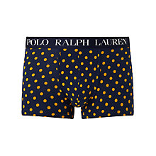 Buy Polo Ralph Lauren Polka Dot Classic Trunks, Cruise Navy Dot Online at johnlewis.com