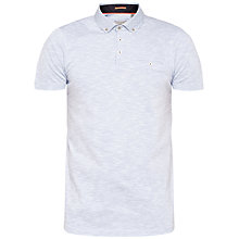 Buy Ted Baker Morean Polo Shirt, Light Blue Online at johnlewis.com