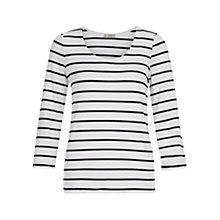 Buy Hobbs Stripe Sophie Top Online at johnlewis.com