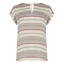 Buy Oasis Casual Stripe T-shirt, Multi Online at johnlewis.com