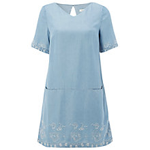 Buy White Stuff Denim Worthwhile Tunic, Blue Online at johnlewis.com