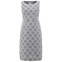 Buy White Stuff Spot Shift Dress, Blueberry Online at johnlewis.com