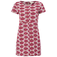 Buy White Stuff Flower Jersey Tunic, Purple Online at johnlewis.com