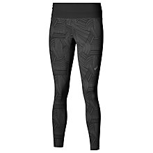 Buy Asics Fuzex Running Tights, Black/Grey Online at johnlewis.com