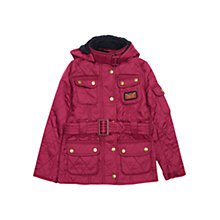 Buy Barbour International Girls' Viper Quilted Jacket Online at johnlewis.com