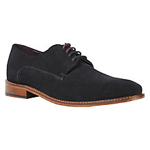 Buy Ted Baker Joehal Derby Shoes, Dark Blue Online at johnlewis.com