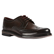 Buy Ted Baker Titanium Derby Shoes Online at johnlewis.com