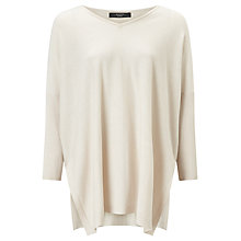Buy Weekend MaxMara Giorno Kimono Sleeve Jumper, White Online at johnlewis.com