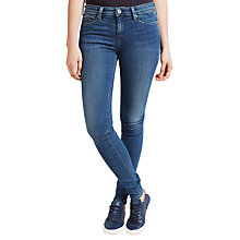 Buy Hilfiger Denim Mid Rise Skinny Fit Jeans, Niceville Mid Stretch Online at johnlewis.com