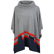 Buy Seasalt Blustery Poncho, Threadfin Rust Online at johnlewis.com