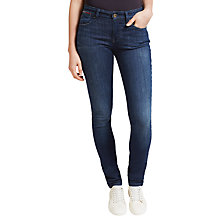Buy Hilfiger Denim Mid Rise Slim Fit Jeans, Dark Stretch Online at johnlewis.com