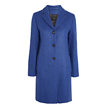 Buy Weekend MaxMara Apotema Coat, Cornflower Blue Online at johnlewis.com