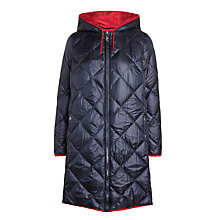 Buy Weekend MaxMara Lino Reversible Down Coat, Ultramarine Online at johnlewis.com