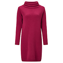 Buy Weekend MaxMara Umbro Knitted Wool Dress, Fuchsia Online at johnlewis.com