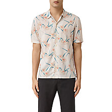 Buy AllSaints Aaru Short Sleeve Shirt Online at johnlewis.com