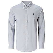 Buy Polo Golf by Ralph Lauren Micro Non-Iron Gingham Shirt Online at johnlewis.com