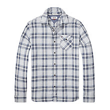 Buy Hilfiger Denim Double Shirt, Mid Grey Heather Online at johnlewis.com