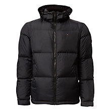 Buy Hilfiger Denim Puffer Jacket, Caviar Online at johnlewis.com
