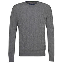 Buy Tommy Hilfiger New Cable Jumper Online at johnlewis.com