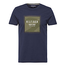 Buy Tommy Hilfiger Tom T-shirt, Navy Online at johnlewis.com