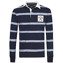 Buy Tommy Hilfiger Dee Stripe Rugby Shirt, Navy Blazer Online at johnlewis.com