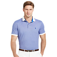 Buy Polo Golf by Ralph Lauren Custom Fit Jersey Polo Shirt, Heritage Royal Online at johnlewis.com