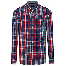 Buy Tommy Hilfiger Ronan Check Shirt, Apple Red Online at johnlewis.com
