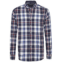 Buy Tommy Hilfiger Charly Check Long Sleeve Shirt, Navy Blazer Online at johnlewis.com
