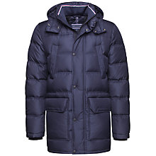 Buy Tommy Hilfiger Down Parka, Midnight Online at johnlewis.com