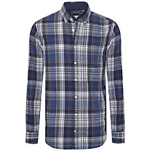 Buy Tommy Hilfiger Damian Check Shirt, Nocturnal Online at johnlewis.com