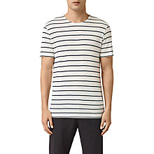 Buy AllSaints Windle Short Sleeve, Chalk/Ink Online at johnlewis.com