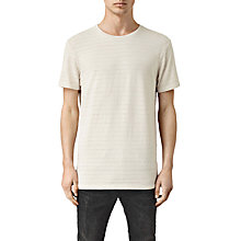 Buy AllSaints Niety Short Sleeve Crew Neck T-Shirt, White Online at johnlewis.com