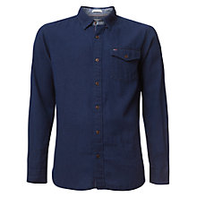 Buy Hilfiger Denim Indigo Texture Shirt, Dark Indigo Online at johnlewis.com