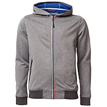 Buy Hilfiger Denim Street Hoodie Jacket, Mid Grey Heather Online at johnlewis.com