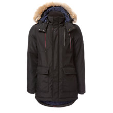 Buy Hilfiger Denim Technical Parka, Caviar Online at johnlewis.com