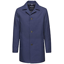 Buy Tommy Hilfiger Liam Tailored Overcoat, Blue Online at johnlewis.com