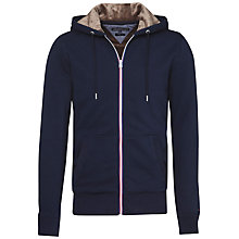 Buy Tommy Hilfiger Sasha Long Sleeve Zip Through Hoodie, Navy Blazer Online at johnlewis.com