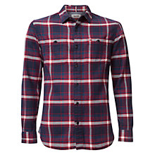 Buy Hilfiger Denim Eur Cotton Shirt, Black Iris Online at johnlewis.com