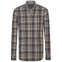 Buy Tommy Hilfiger Findy Check Long Sleeve Shirt, Charcoal Heather Online at johnlewis.com