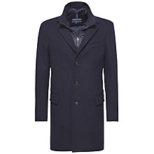 Buy Tommy Hilfiger New Chase Jersey Coat, Midnight Online at johnlewis.com