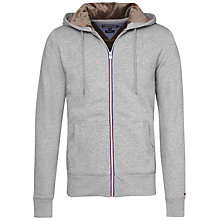 Buy Tommy Hilfiger Sasha Zip Through Hoody, Cloud Heather Online at johnlewis.com