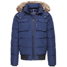 Buy Tommy Hilfiger Jaime Down Bomber Jacket, Navy Blazer Online at johnlewis.com