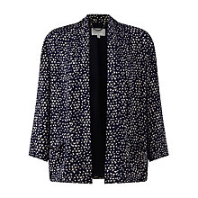 Buy Jigsaw Micro Triangle Jacket, Blue Online at johnlewis.com
