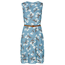 Buy Sugarhill Boutique Evelyn Floral Dress, Navy/White Online at johnlewis.com