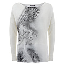 Buy Mint Velvet Larissa Silk Hem Jumper, Multi Online at johnlewis.com