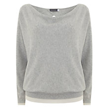 Buy Mint Velvet Neck Batwing Jumper Online at johnlewis.com
